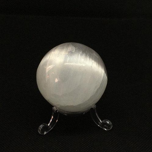 Selenite Sphere 50mm Diameter