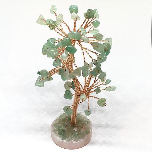 Round Base Gem Crystal Trees