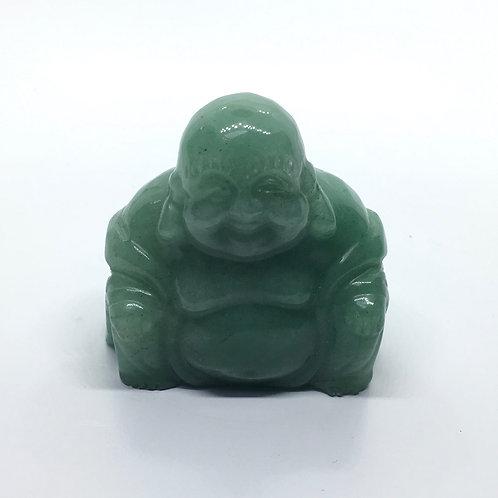 Green Aventurine Crystal Buddha