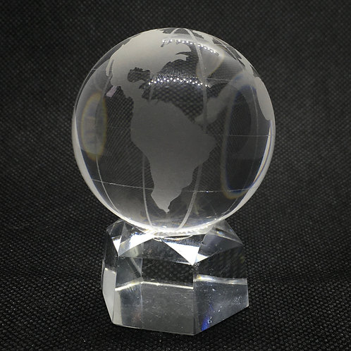 Glass Globe on a Stand - 50 mm