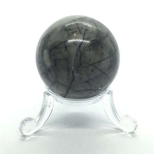 Jasper Picasso - A - 40 mm Crystal Sphere with Free Stand