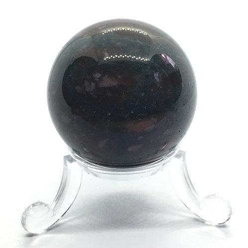 Bloodstone 40 mm Sphere