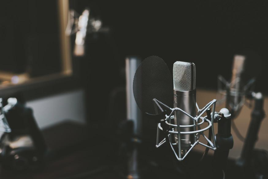 Студия микрофон