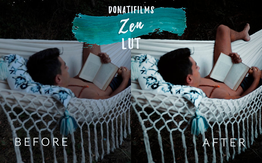 @donatifilms / My LUTs / 8 Adobe Premiere LUTs