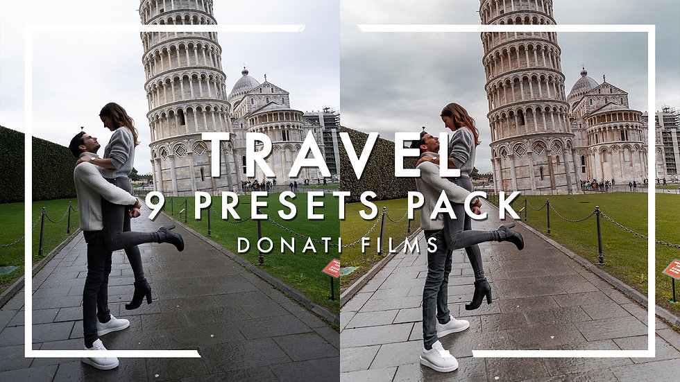 DONATI FILMS / Travel / 9 Presets Pack