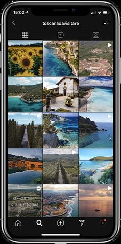 Toscana da visitare Instagram