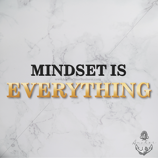 Mindset is Everything Wallpaper (Phone)