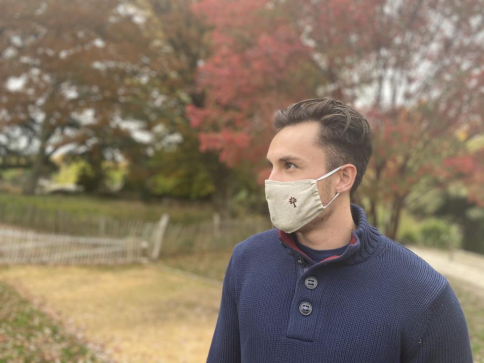Masque chanvre fond