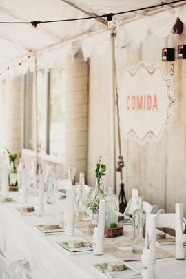 Table & Decor at Comida