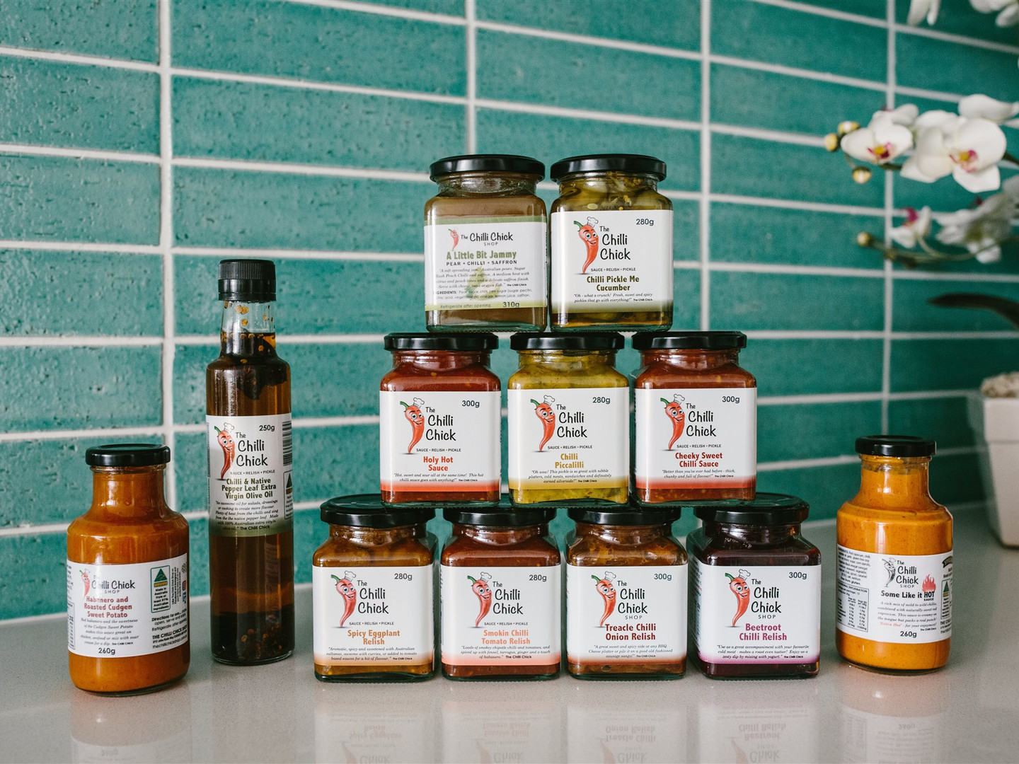 The Chilli Chick Shop - product range