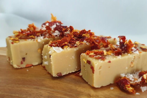 Hot-Salted Caramel Chilli Fudge