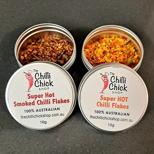 Super Hot Chilli Flakes Duo