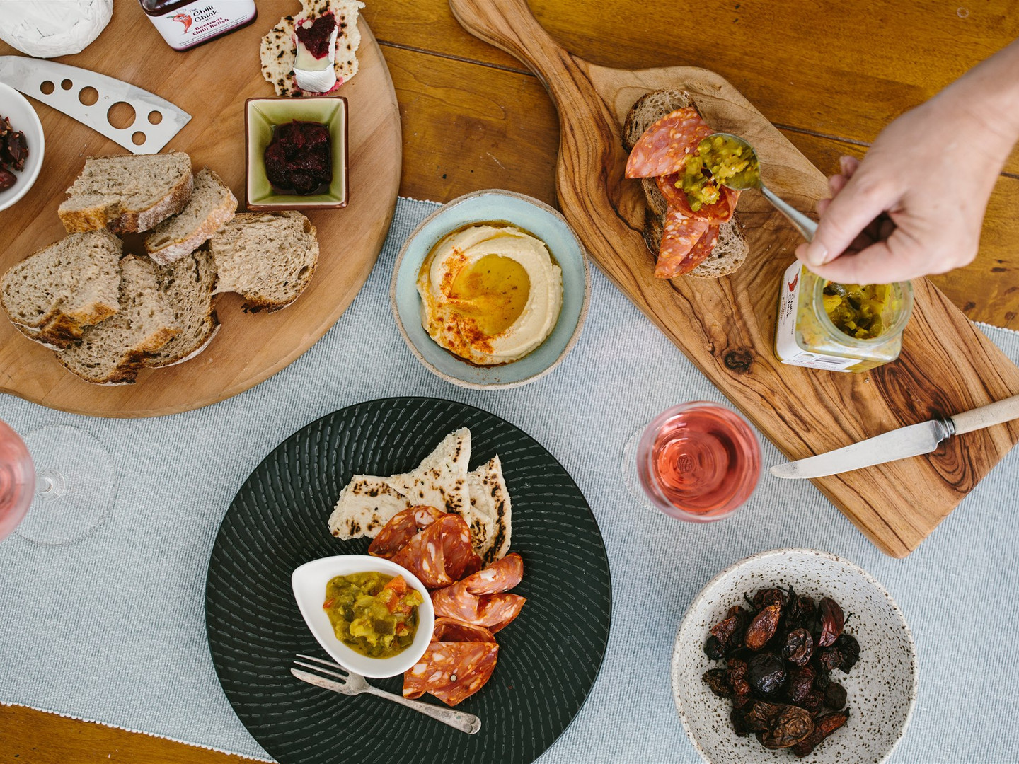 The Chilli Chick Shop -nibbles platters
