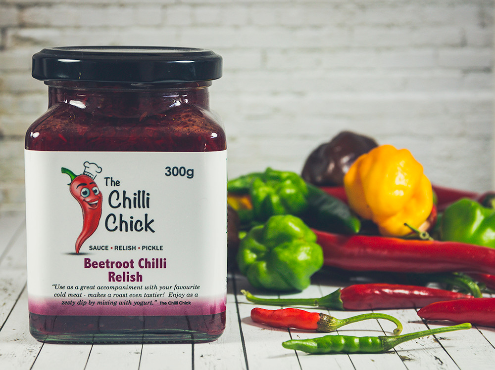 Beetroot Chilli Relish