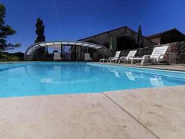piscine chauffée gites de la feronniere froidfond vendée proche mer