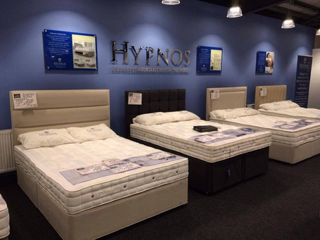 Our Hypnos Bed Gallery Has Arrived In-store