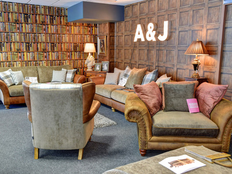 Fall In Love With Our A & J Sofas