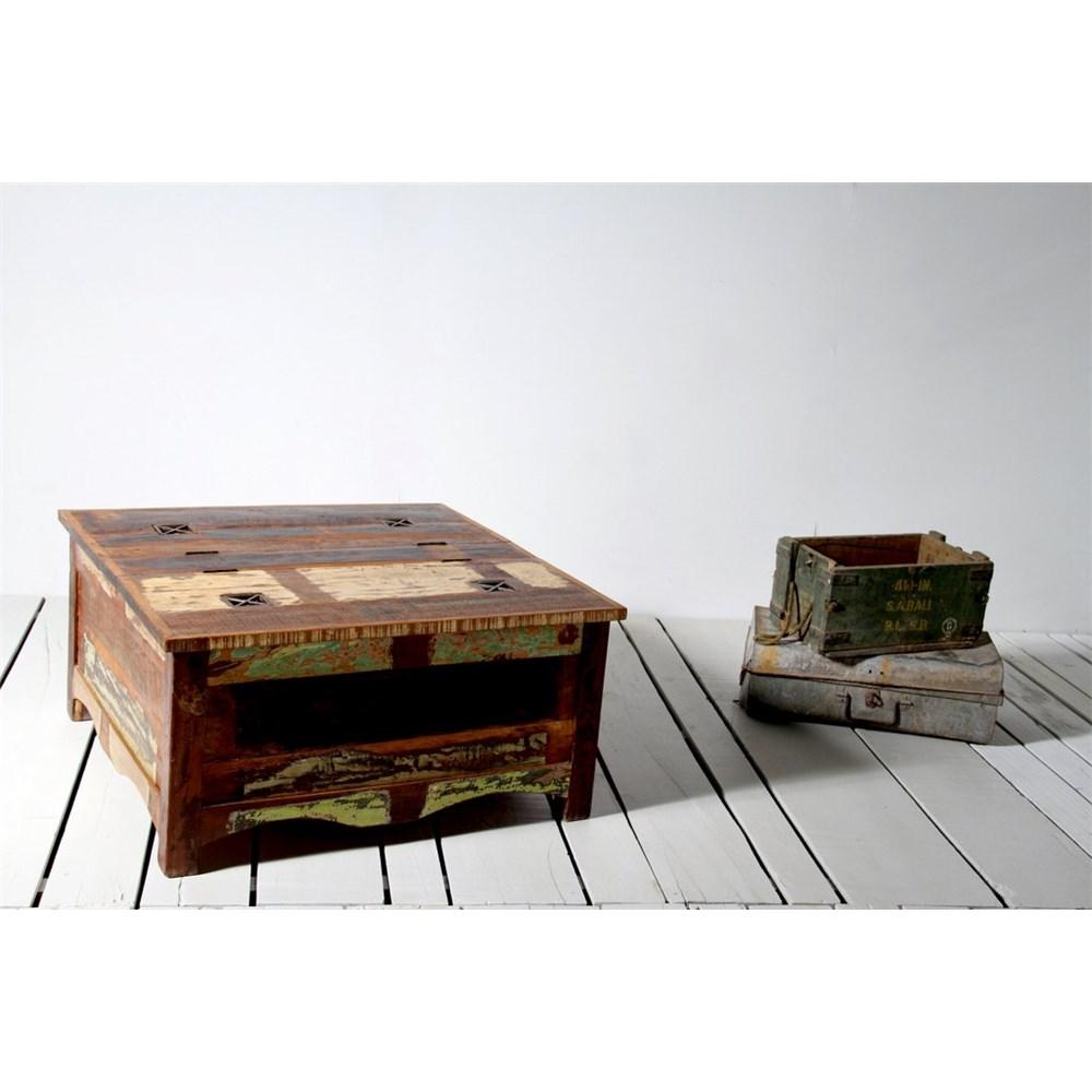 Riya Upcycled Trunk Coffee Table