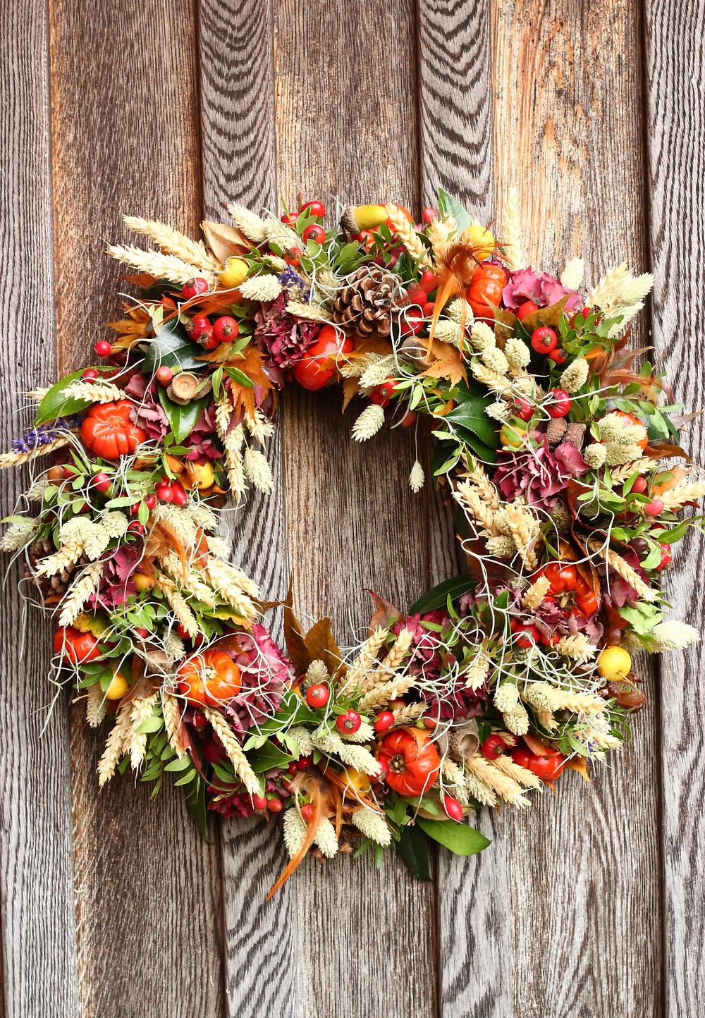 Luxurious Autumn wreath