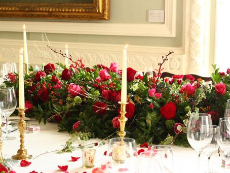Elegant London Winter Wedding