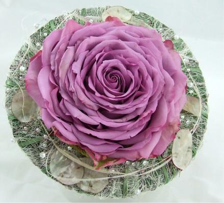 Pink carmen rose (glamelia) bouquet