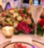 Luxury table centrepiece
