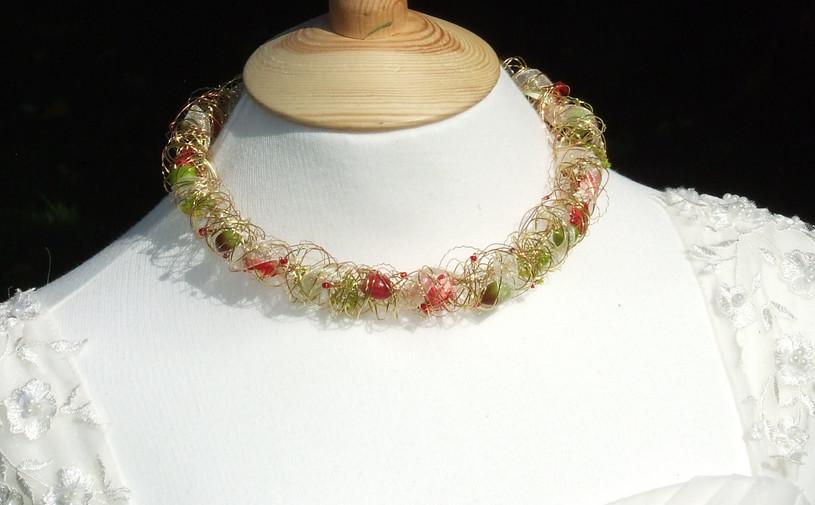 Bespoke gold necklace