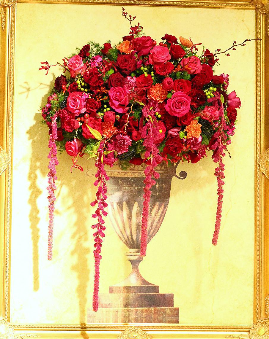 3D floral painting