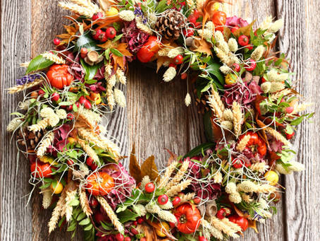 How to Make a Stunning Mossed Autumn Wreath