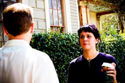 Chris Lane (Paul) and Nicole (Mary)