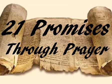 Jesus' 5475 Blows to My Body - 21 Promises