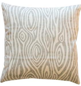 Woodgrain Toss Pillow