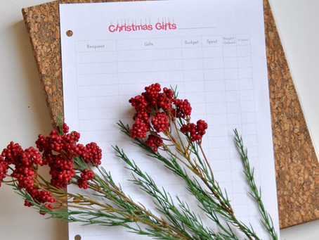 5 things to do now to make December less stressful!