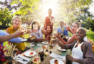 Diverse People Party Togetherness Friend