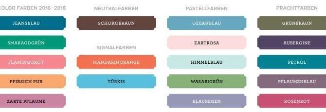 Neue Farben braucht das Land!