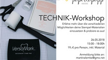 Neuer Workshop!