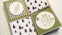 Pop-up Minialbum als Karte & Anleitung