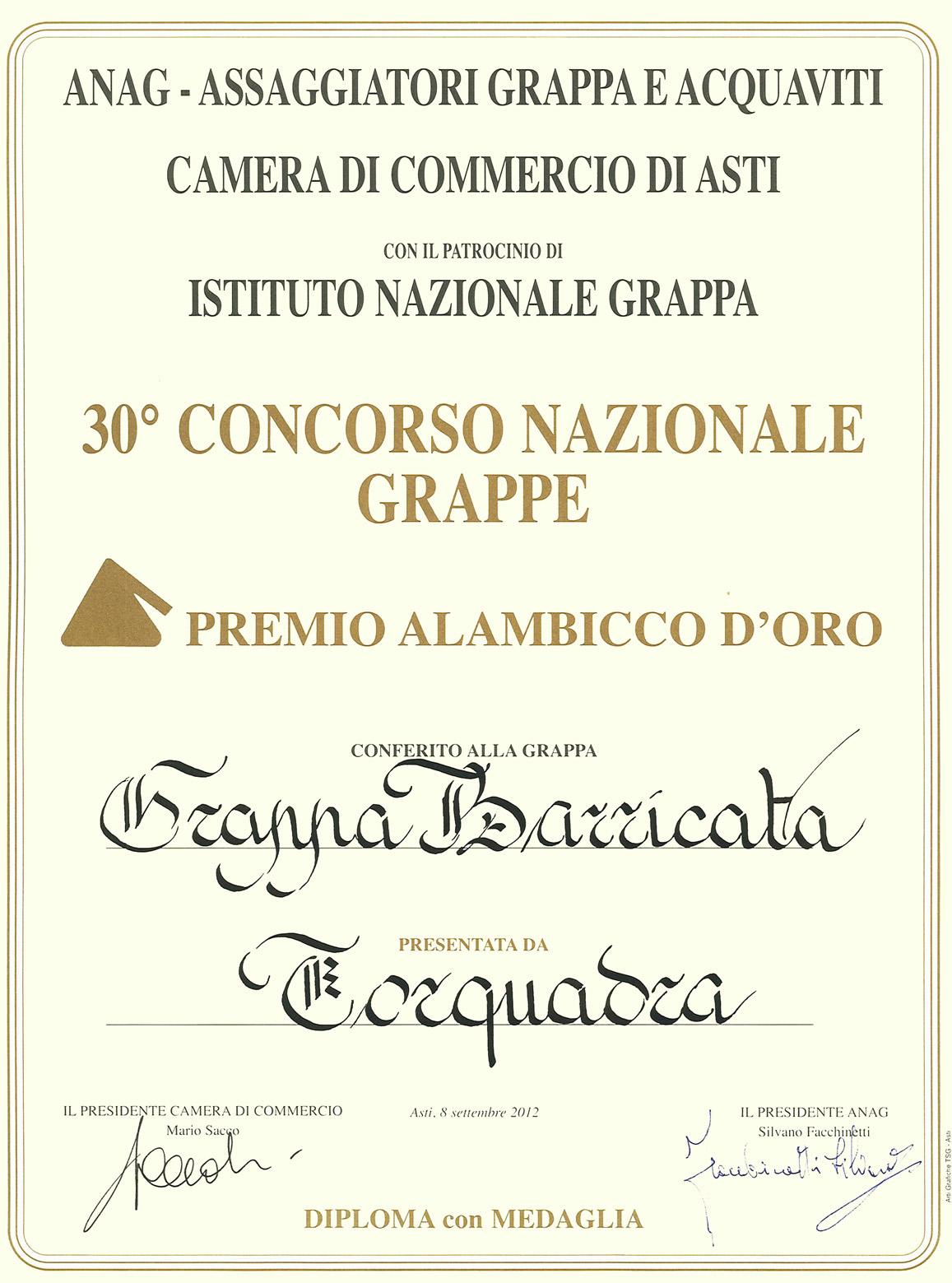Premio Alambicco d'Oro