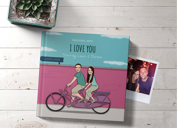 His & Hers | Personalised 'I love you' Book