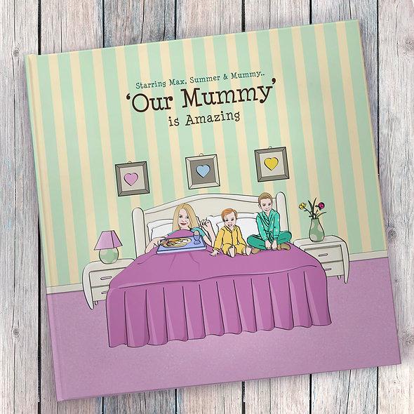 Personalised 'Amazing Mummy' Book