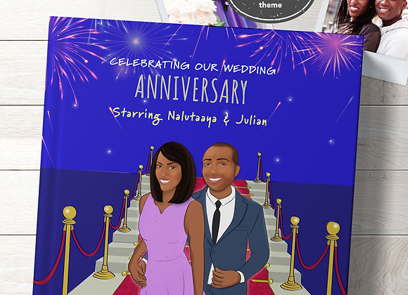 His & Hers | Personalised 'Anniversary' Book
