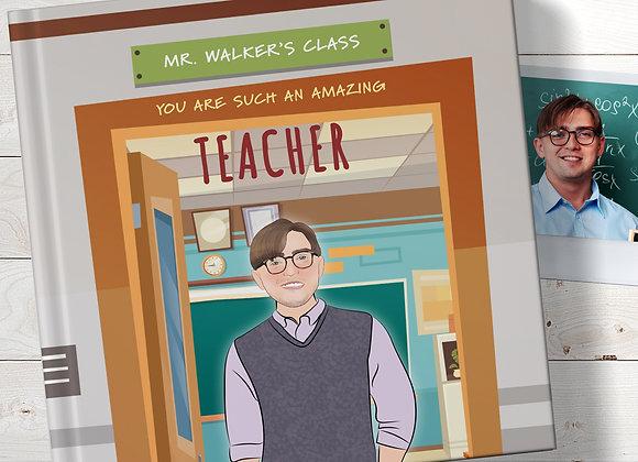 Personalised 'Amazing Teacher' Book