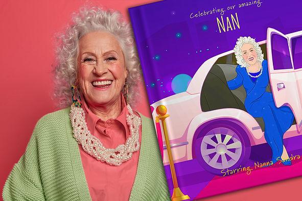 Personalised grandmother and grandparent book