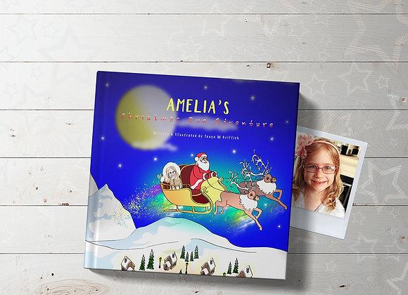 Personalised 'Christmas Eve Adventure' Book
