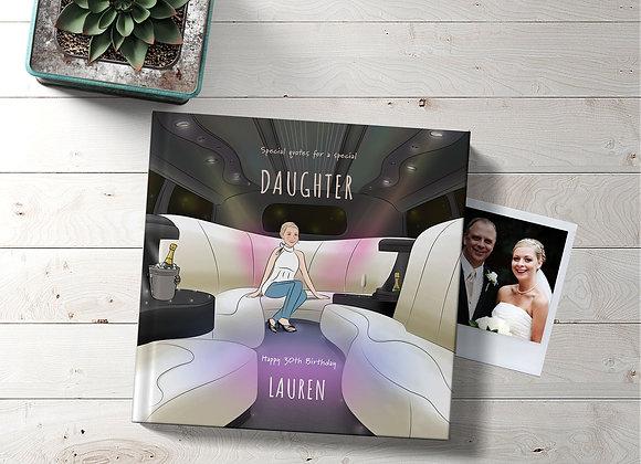 Personalised 'Daughter' Book