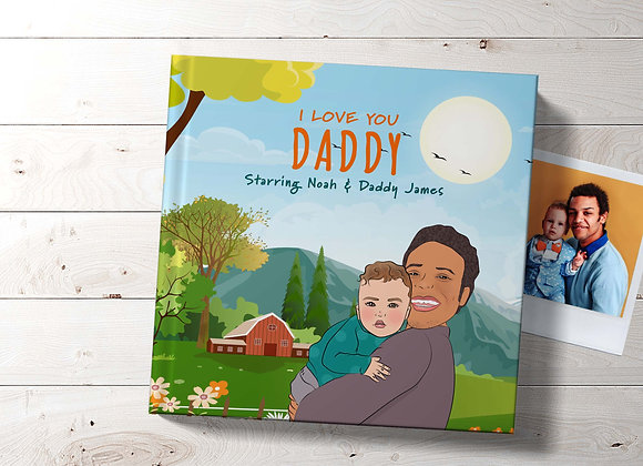Personalised Book For New Daddy