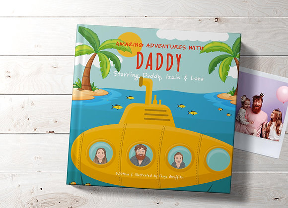 Personalised Daddy Adventures Book