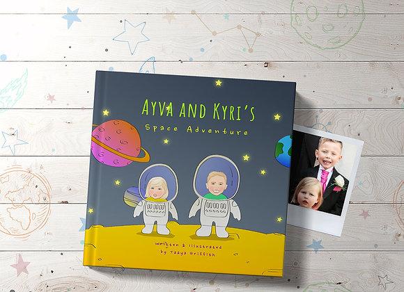 Personalised 'Space Adventure' Book