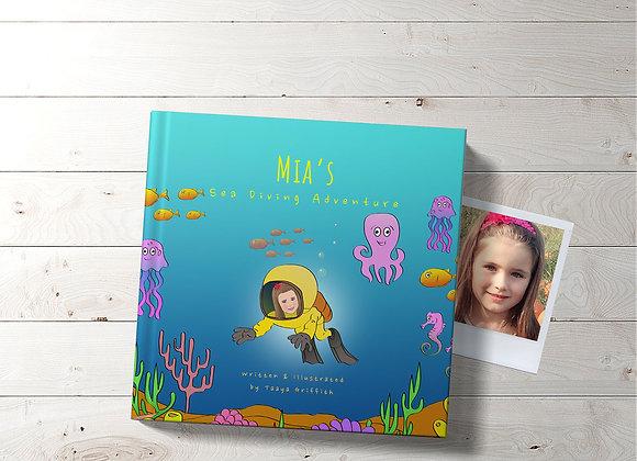 Personalised 'Sea Diving Adventure' Book