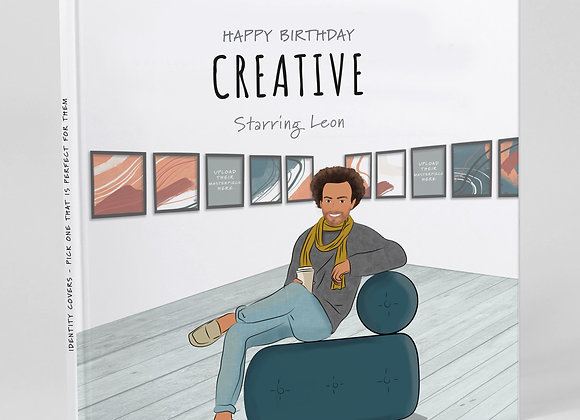 Personalised 'Creative' (Cover only)  -  Add to any book purchase
